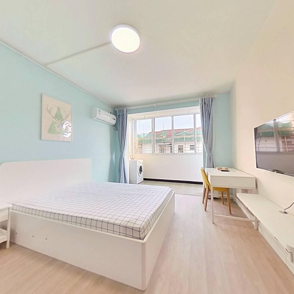 整租·子长小区 1室1厅 南卧室图