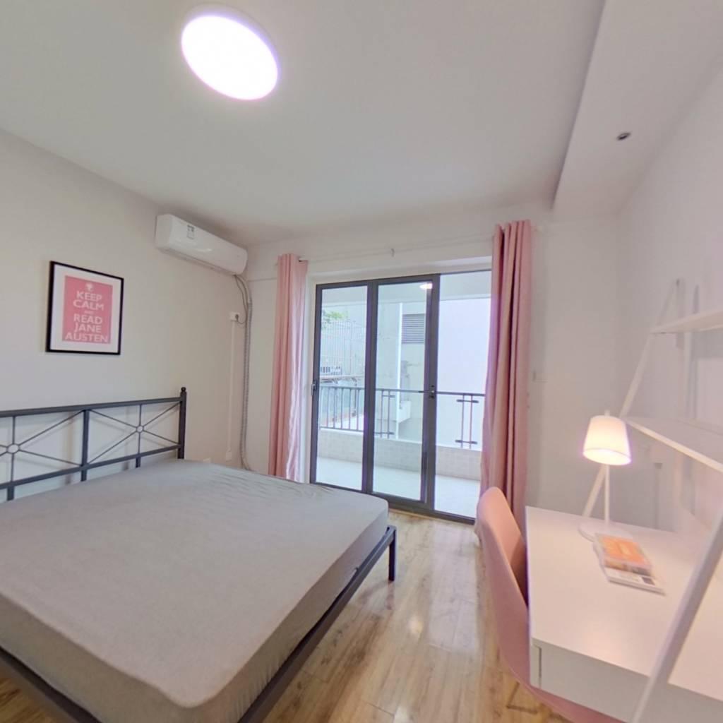 合租·锦天国际 3室1厅 东南卧室图
