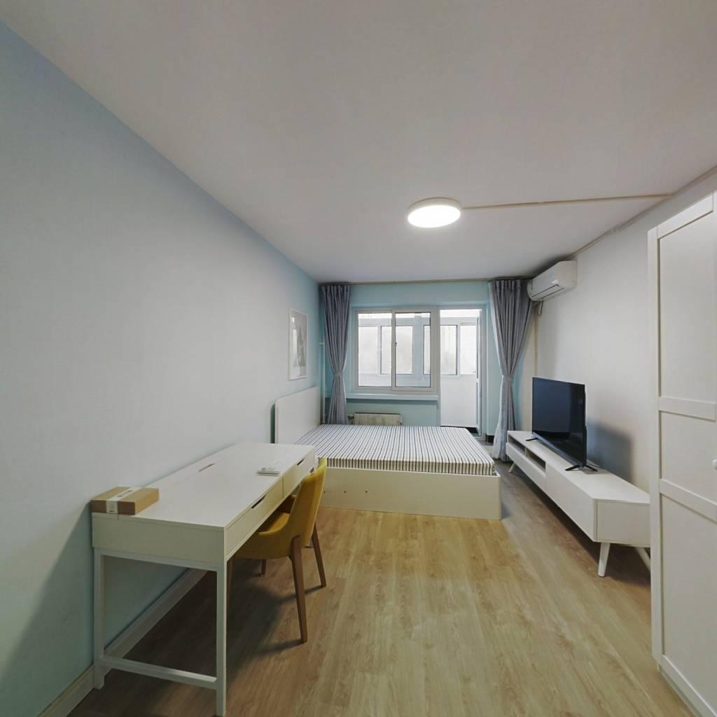 整租·三源里街 1室1厅 南卧室图