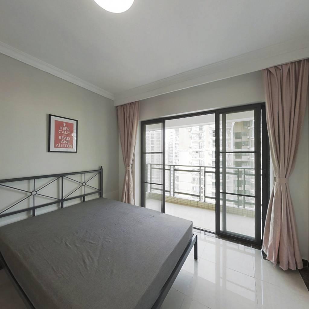 合租·富力东山新天地 3室1厅 北卧室图