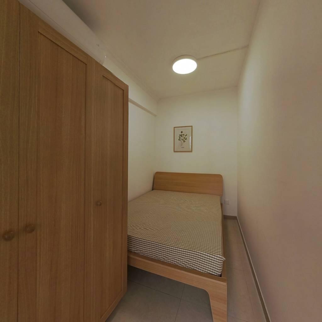 合租·六运小区 3室1厅 北卧室图