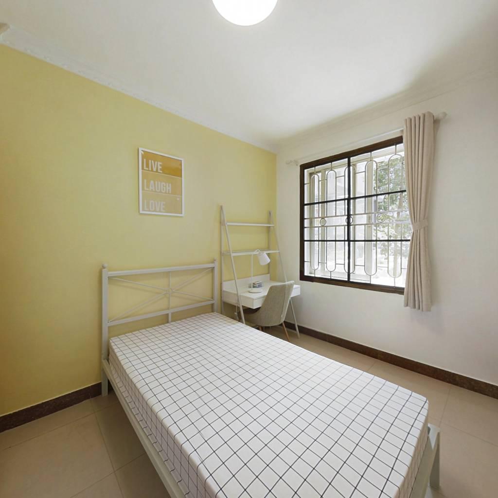 合租·华景新城雅景园 4室1厅 西卧室图
