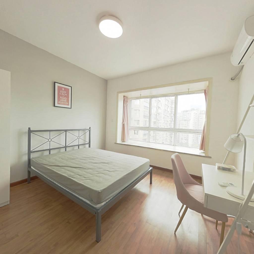 合租·沙河新城 4室1厅 西卧室图