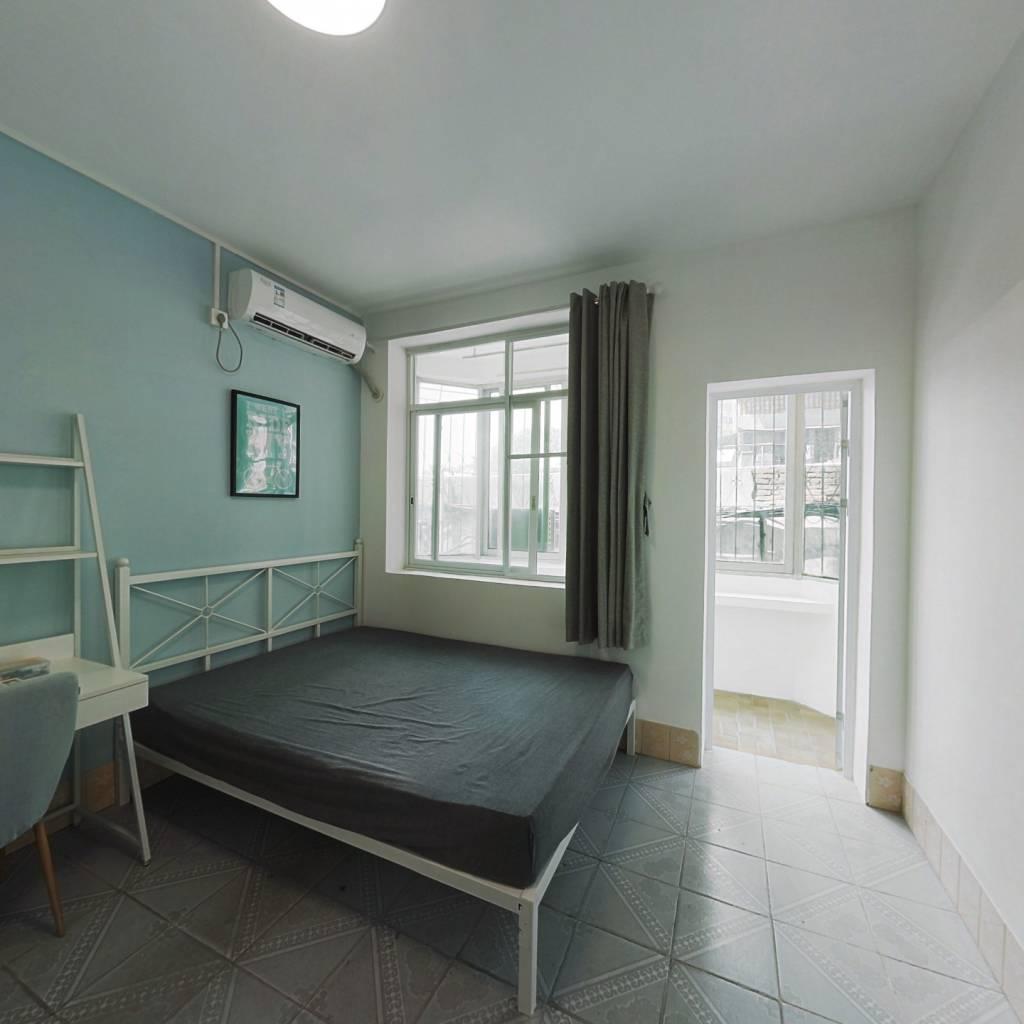 合租·如意二马路 4室1厅 南卧室图