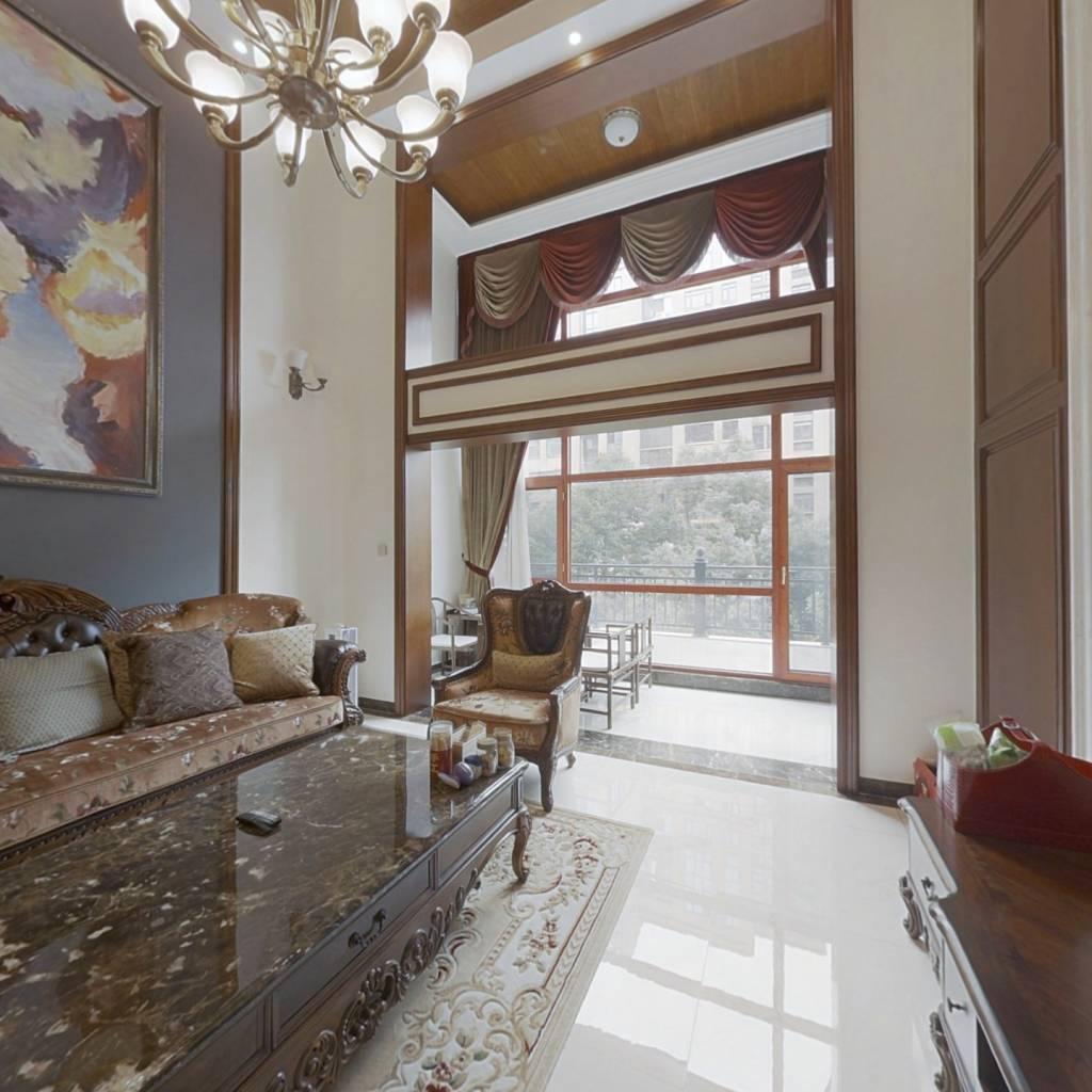 园林小区{景观区}客厅-阳台挑高6米-近地铁-湘府英才