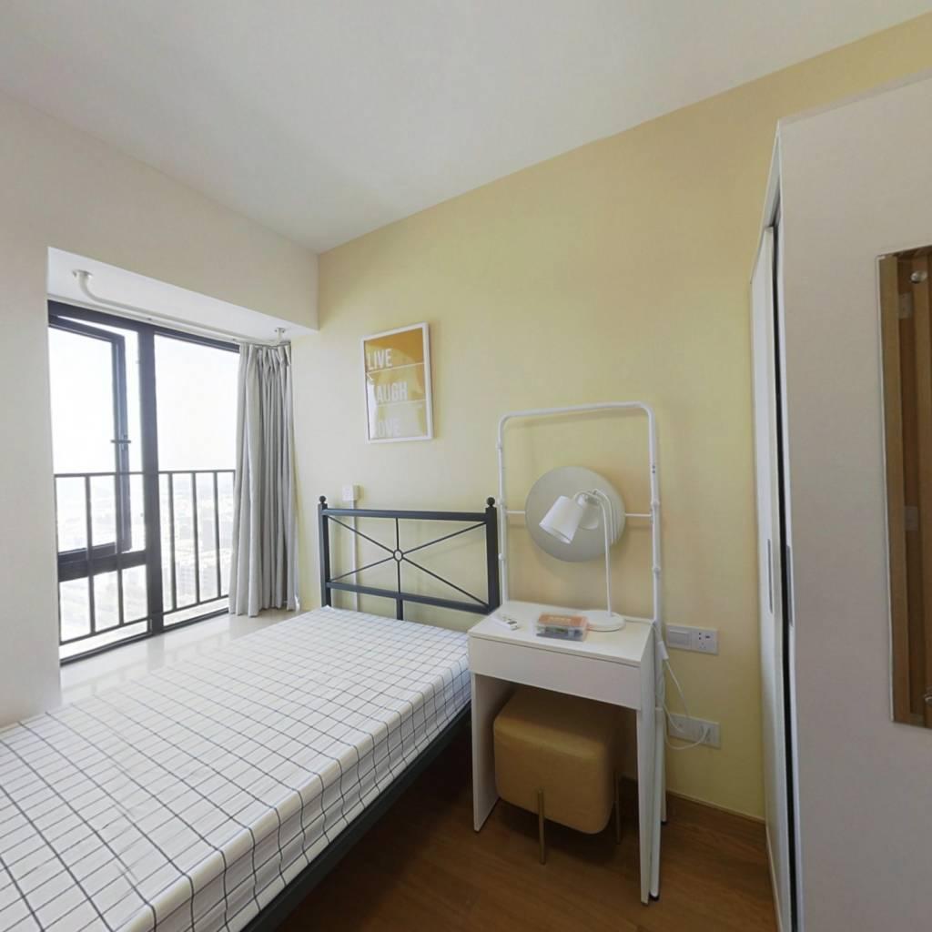 合租·亚运城天成 4室1厅 北卧室图