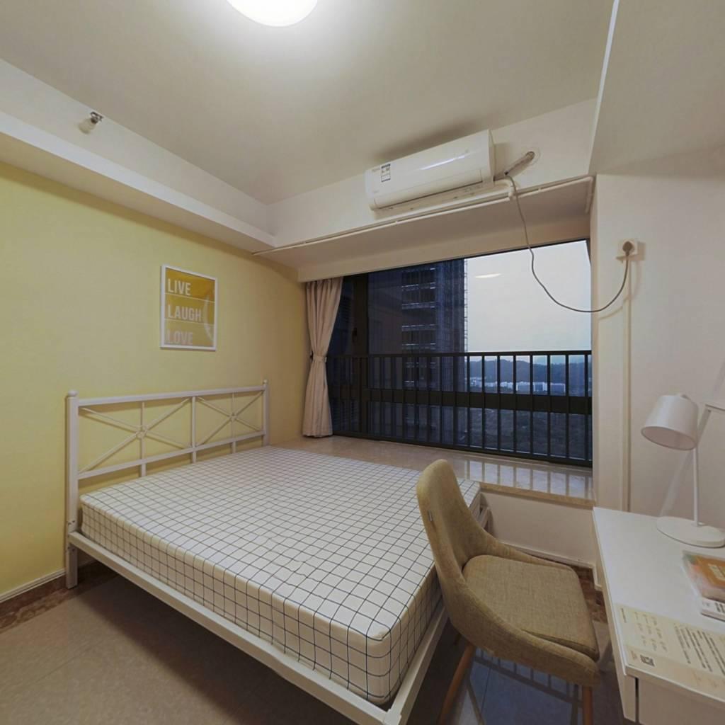 合租·京基御景峯 6室1厅 西北卧室图