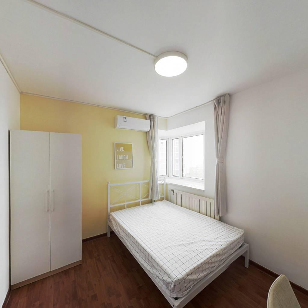 合租·锋泛国际 3室1厅 南卧室图
