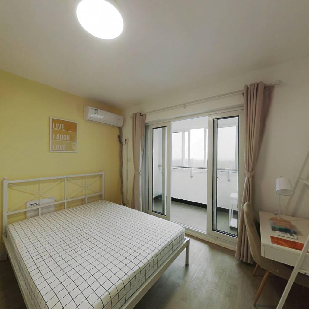 合租·滨浦新苑六村 3室1厅 南卧室图