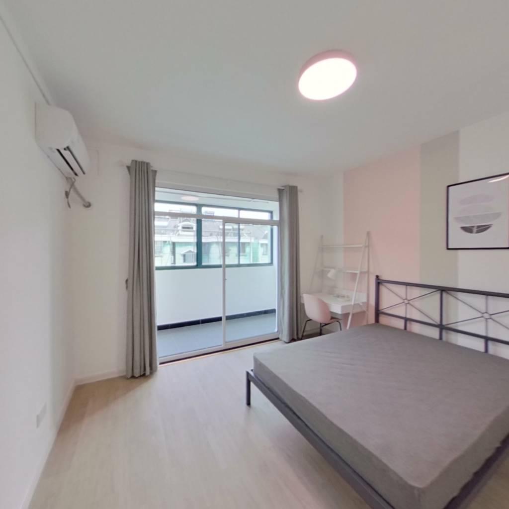 合租·天景山公寓欣荣苑 4室1厅 南卧室图