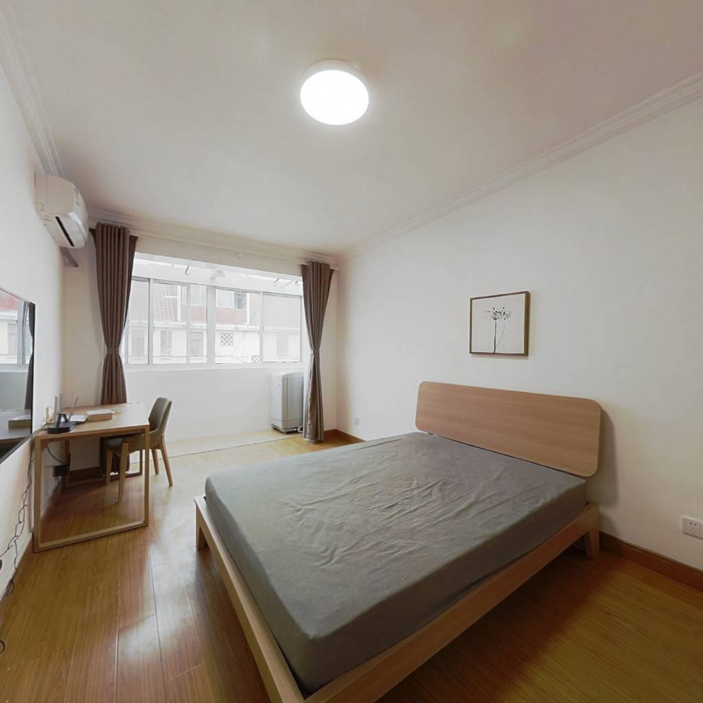 整租·梅园新村(浦东) 1室1厅 南卧室图