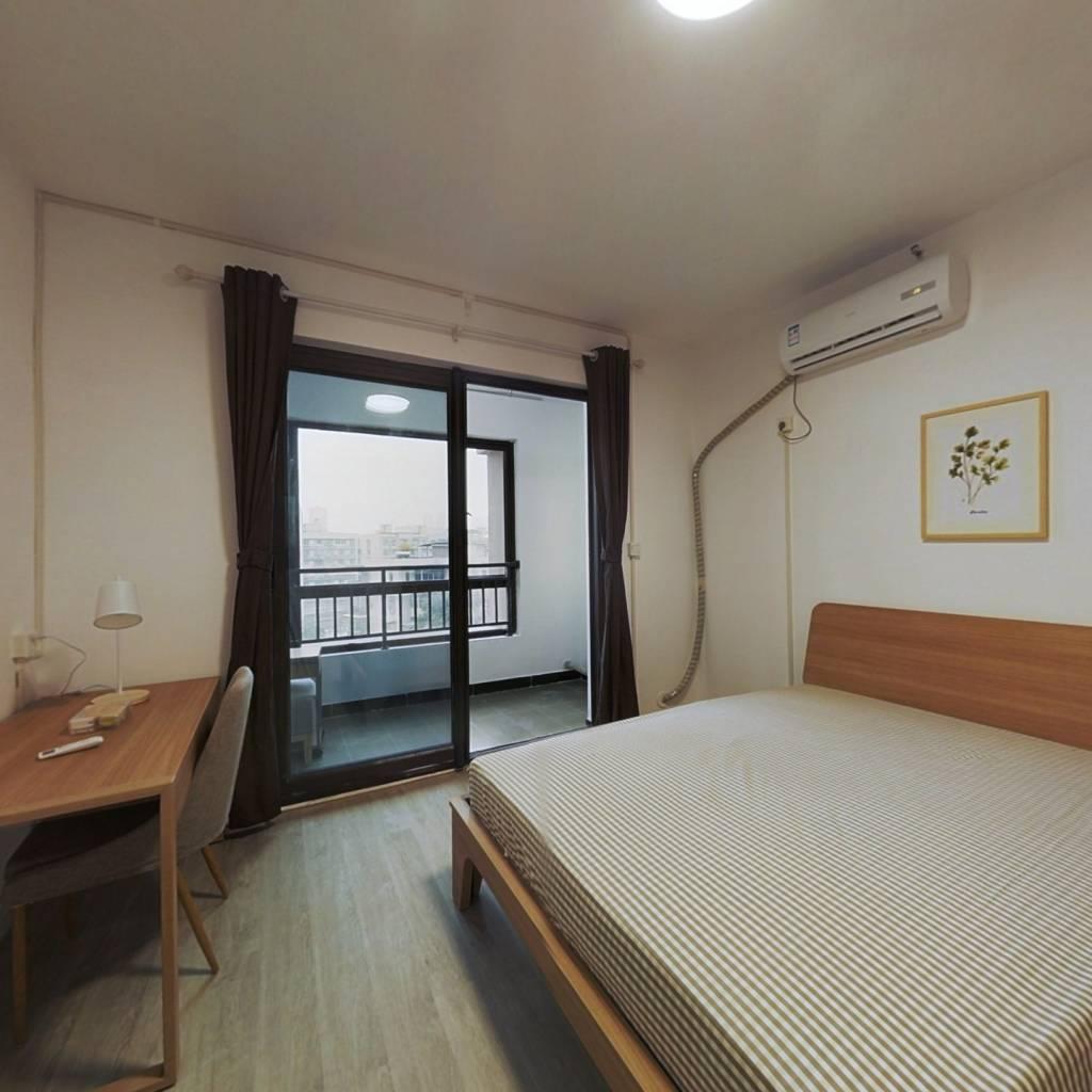 合租·福星华府誉境 4室1厅 北卧室图