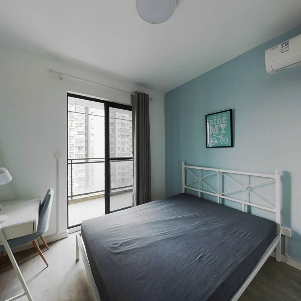 合租·金地中心城 3室1厅 南卧室图