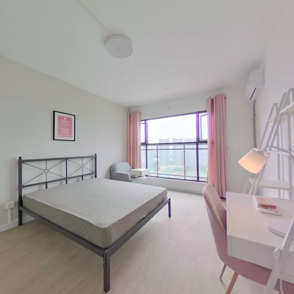合租·普得先锋国际 4室1厅 北卧室图