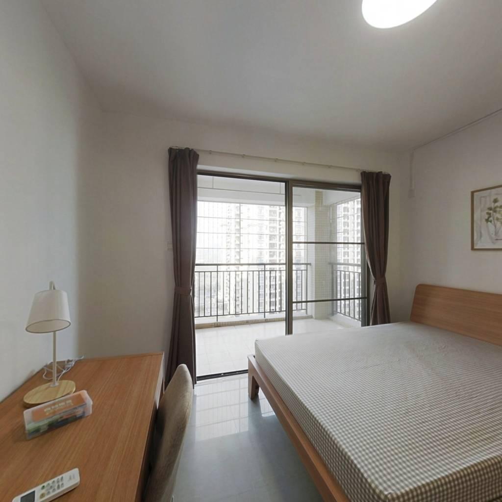 合租·瑞东花园 4室1厅 北卧室图