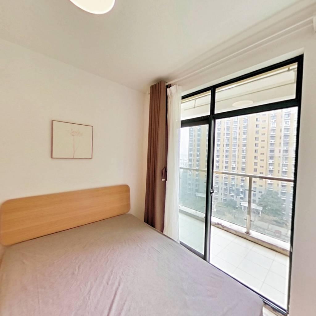 整租·百家湖西花园伦敦城 2室1厅 南卧室图