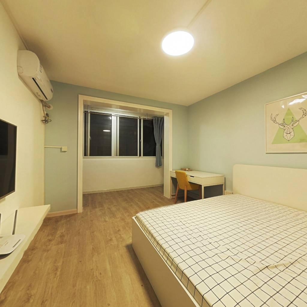 整租·天柱山路小区 1室1厅 南卧室图