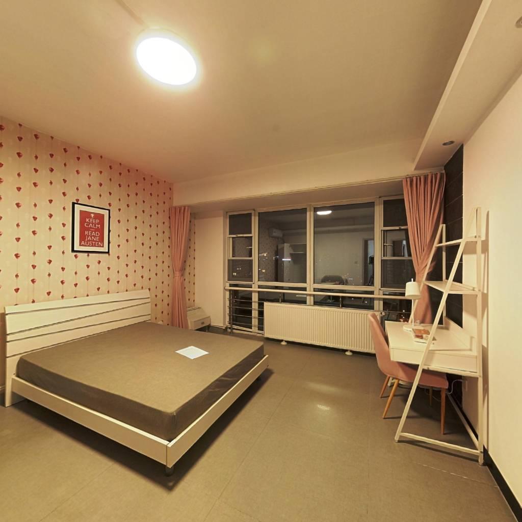 合租·天府长城嘉南地 4室1厅 北卧室图
