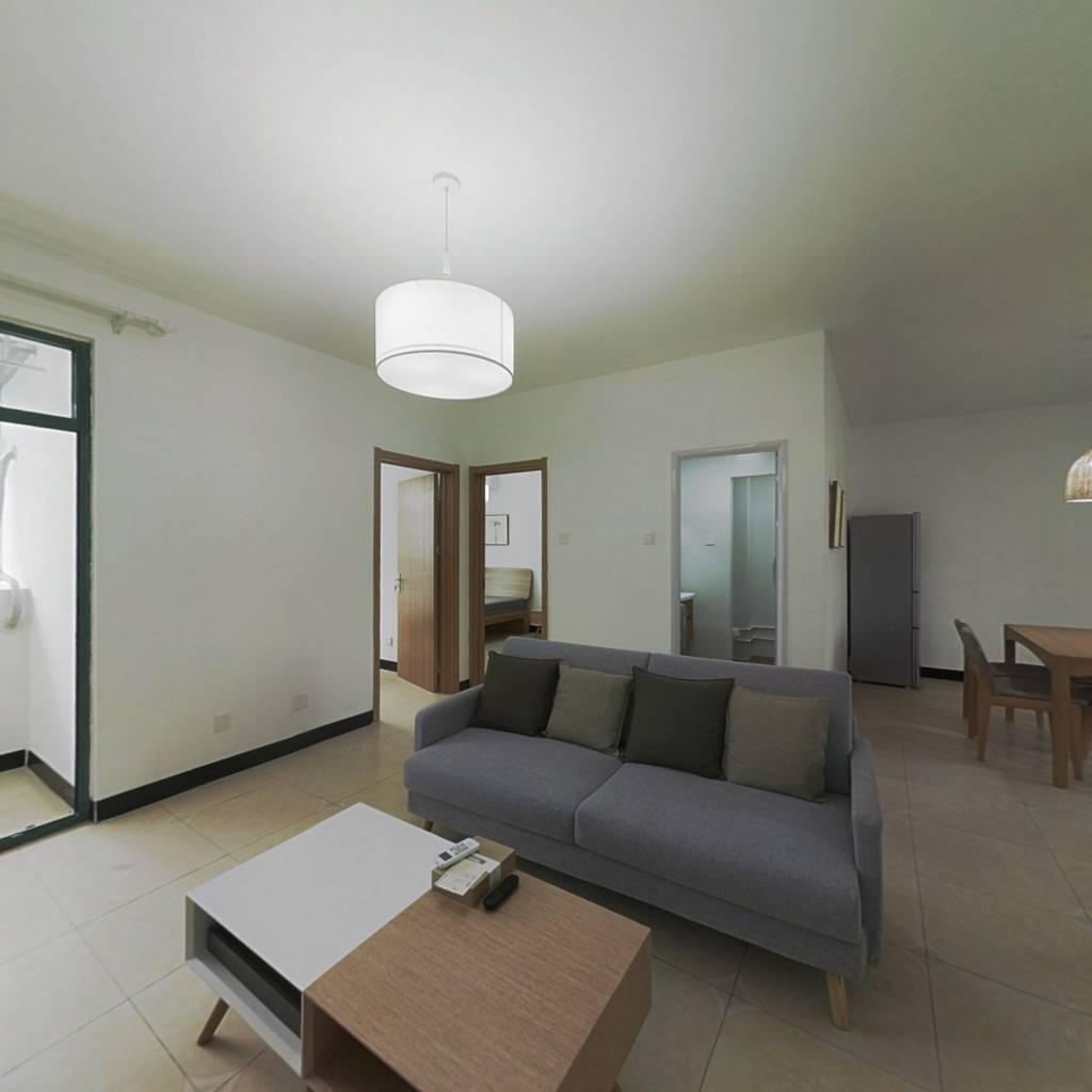 整租·宁馨苑 2室1厅 南北卧室图