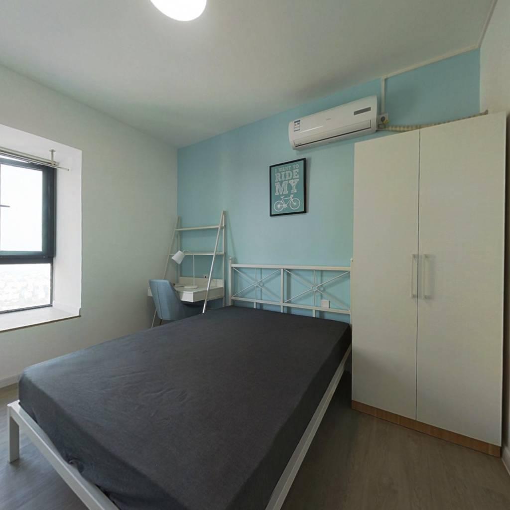 合租·金地天府城 4室1厅 西卧室图