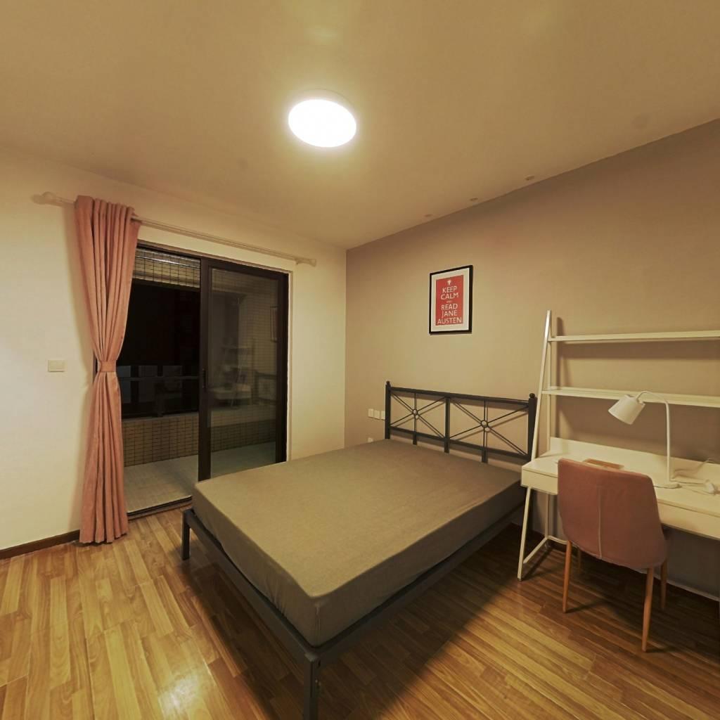 合租·华润凤凰城三期 4室1厅 西卧室图