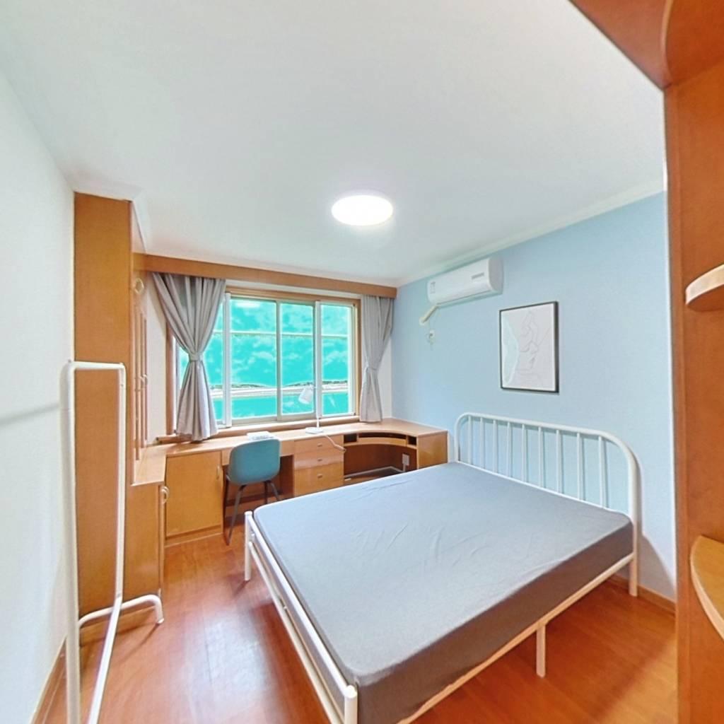 合租·物华小区 4室1厅 南卧室图