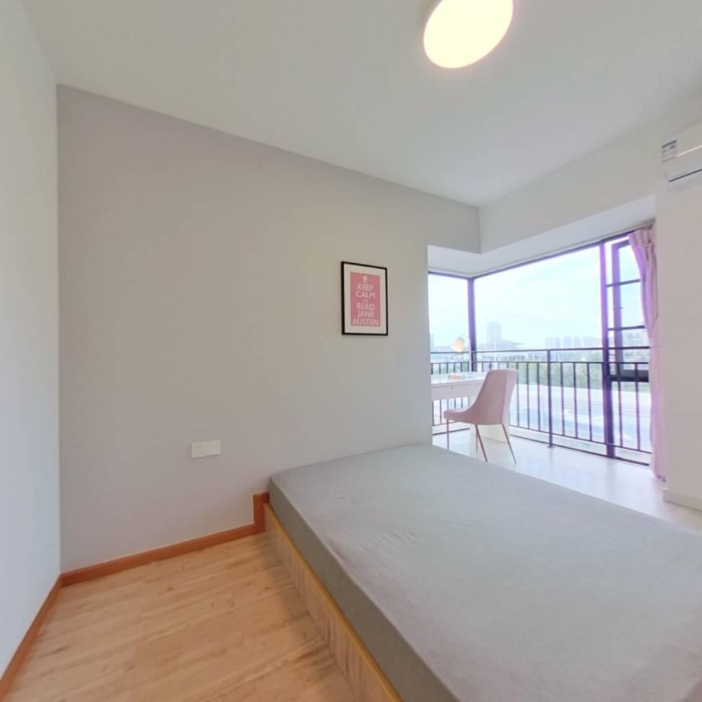合租·027社区 3室1厅 北卧室图