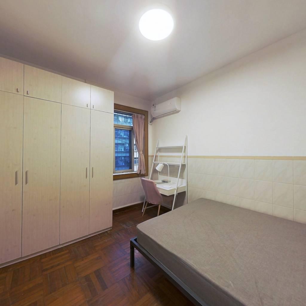 合租·建业小区南区 4室1厅 南卧室图