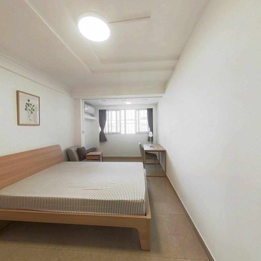 合租·穗园小区 4室1厅 北卧室图