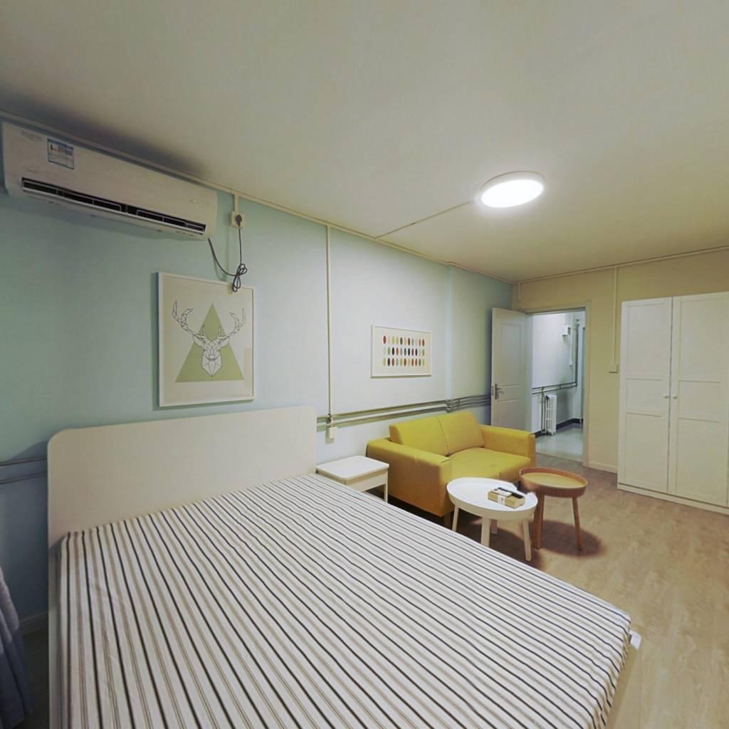整租·聚英里 1室1厅 南卧室图