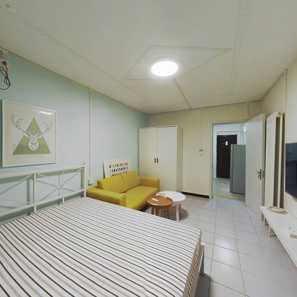 整租·景兴西里 1室1厅 南卧室图