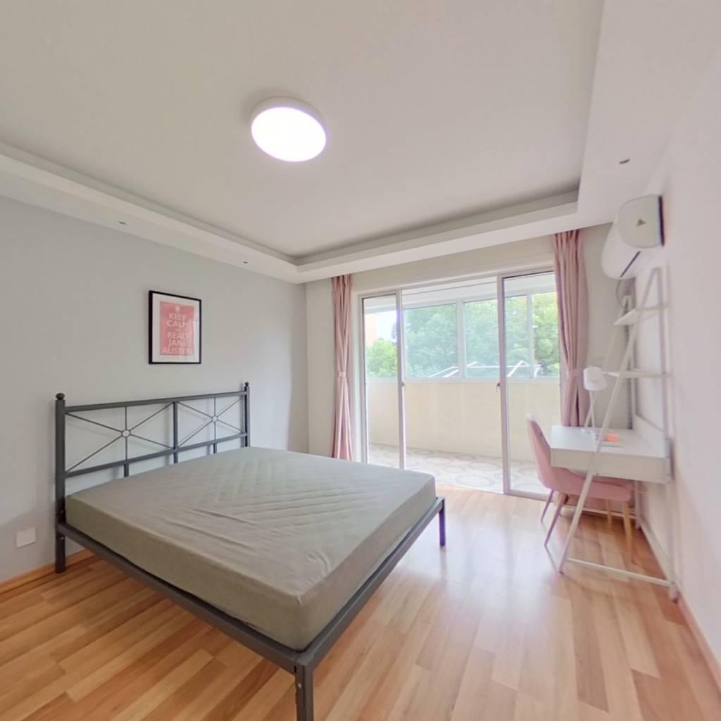 合租·田图苑 4室1厅 南卧室图