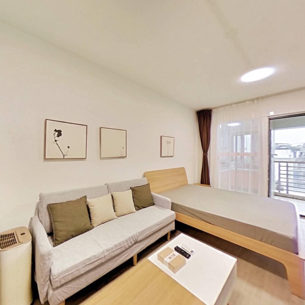 整租·水木光华 1室1厅 东卧室图