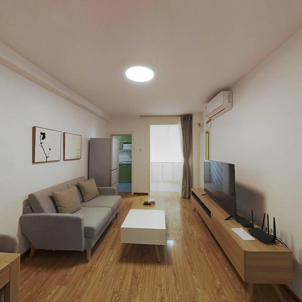 整租·芍药居北里 2室1厅 西南卧室图