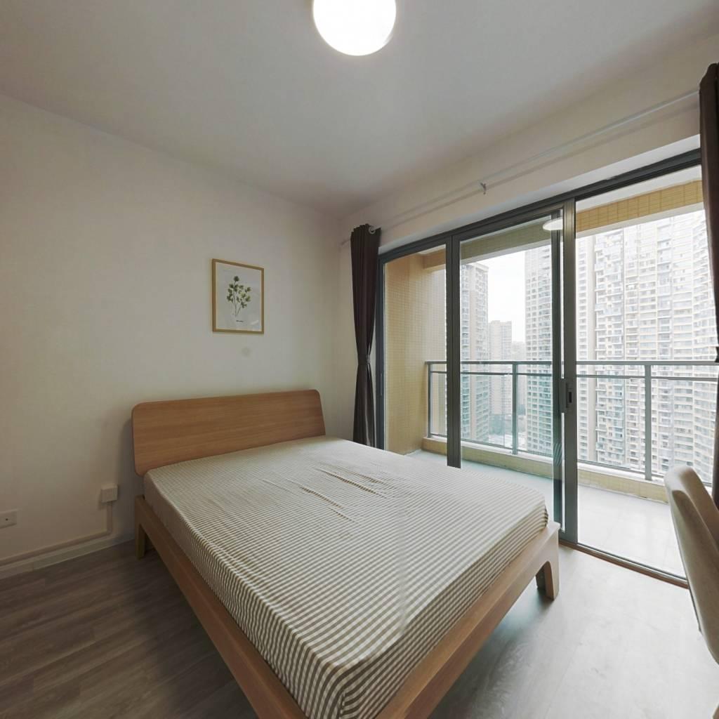 合租·御龙山二期 3室1厅 北卧室图