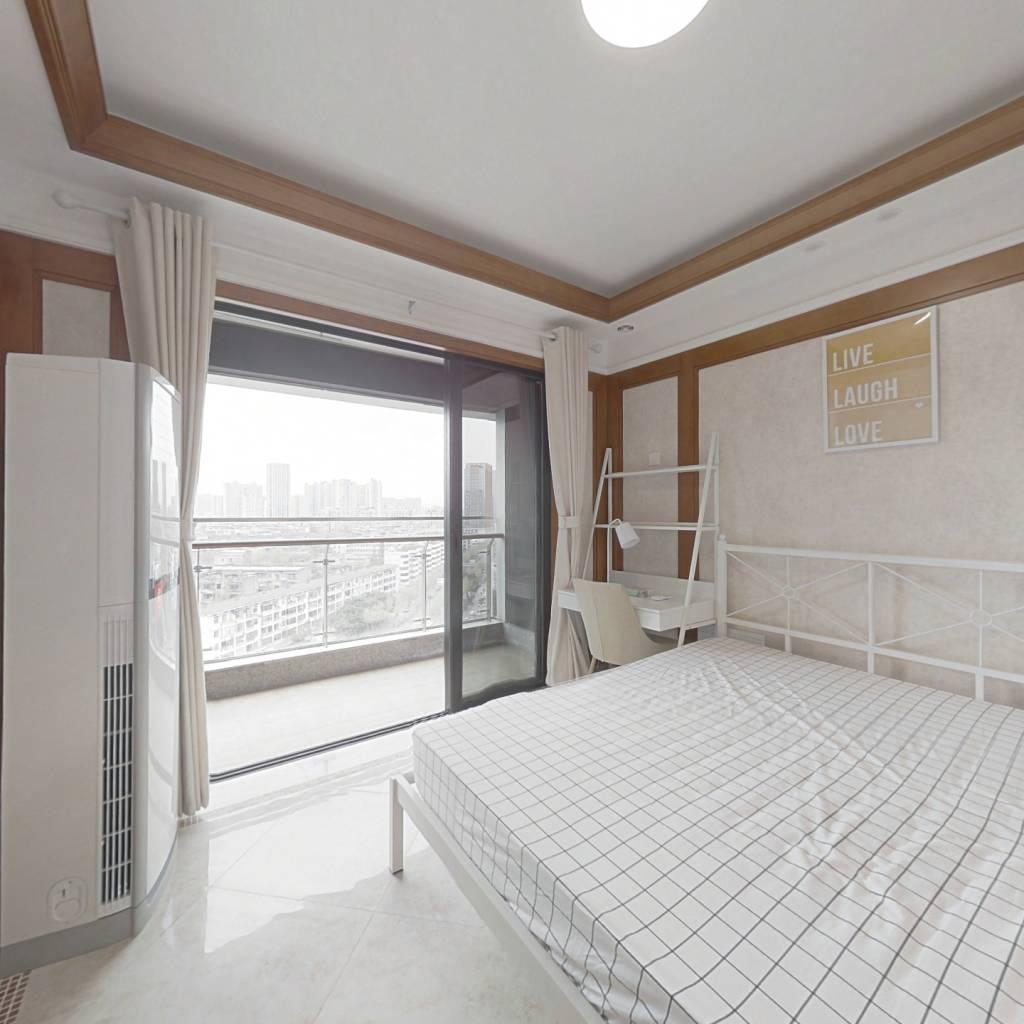 合租·中铁鹭岛艺术城 4室1厅 北卧室图