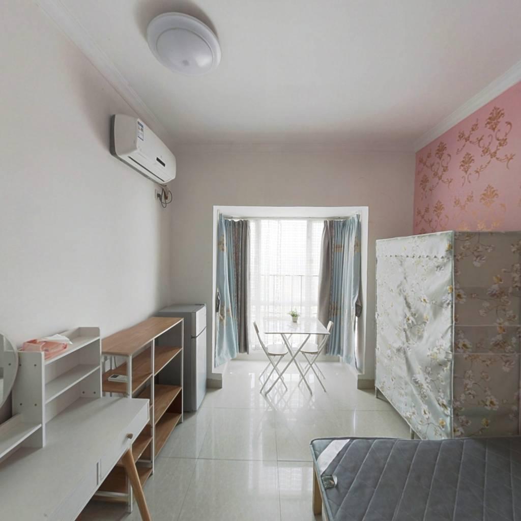 旭日御华庭精装修一房一厅 总价格低 适合首付少的顾客