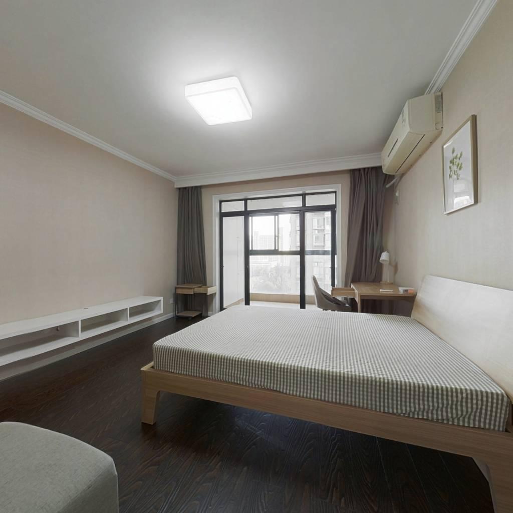 合租·钱江湾花园 4室1厅 北卧室图