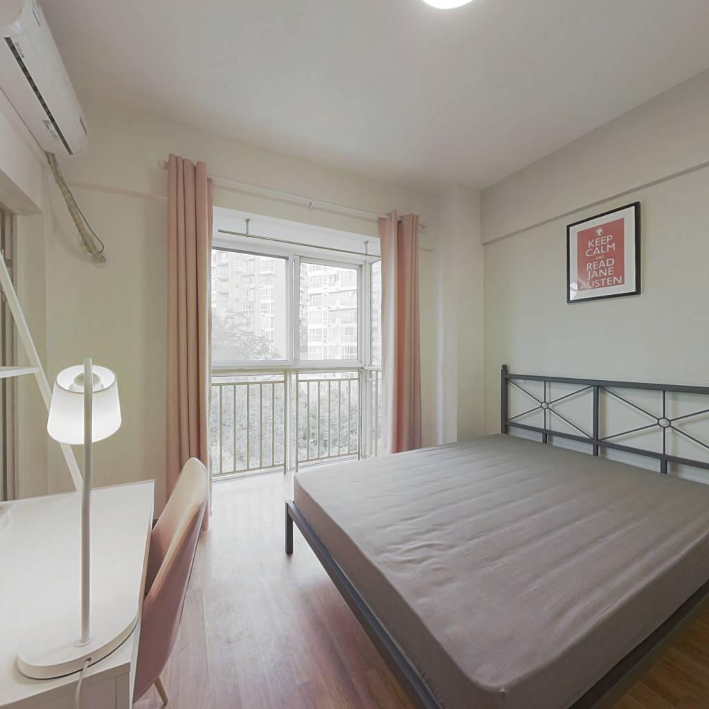 合租·印象金沙 4室1厅 东南卧室图