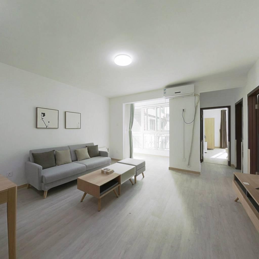 整租·晨月园 2室1厅 西南卧室图