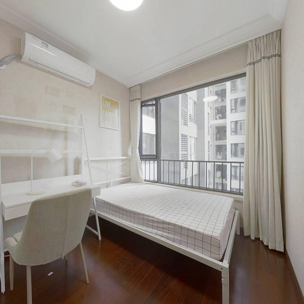 合租·龙湖三千城二期B区 4室1厅 西卧室图