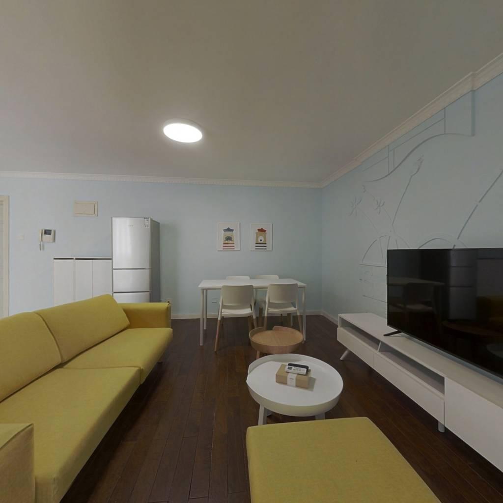 整租·望京西园三区 2室1厅 西南卧室图