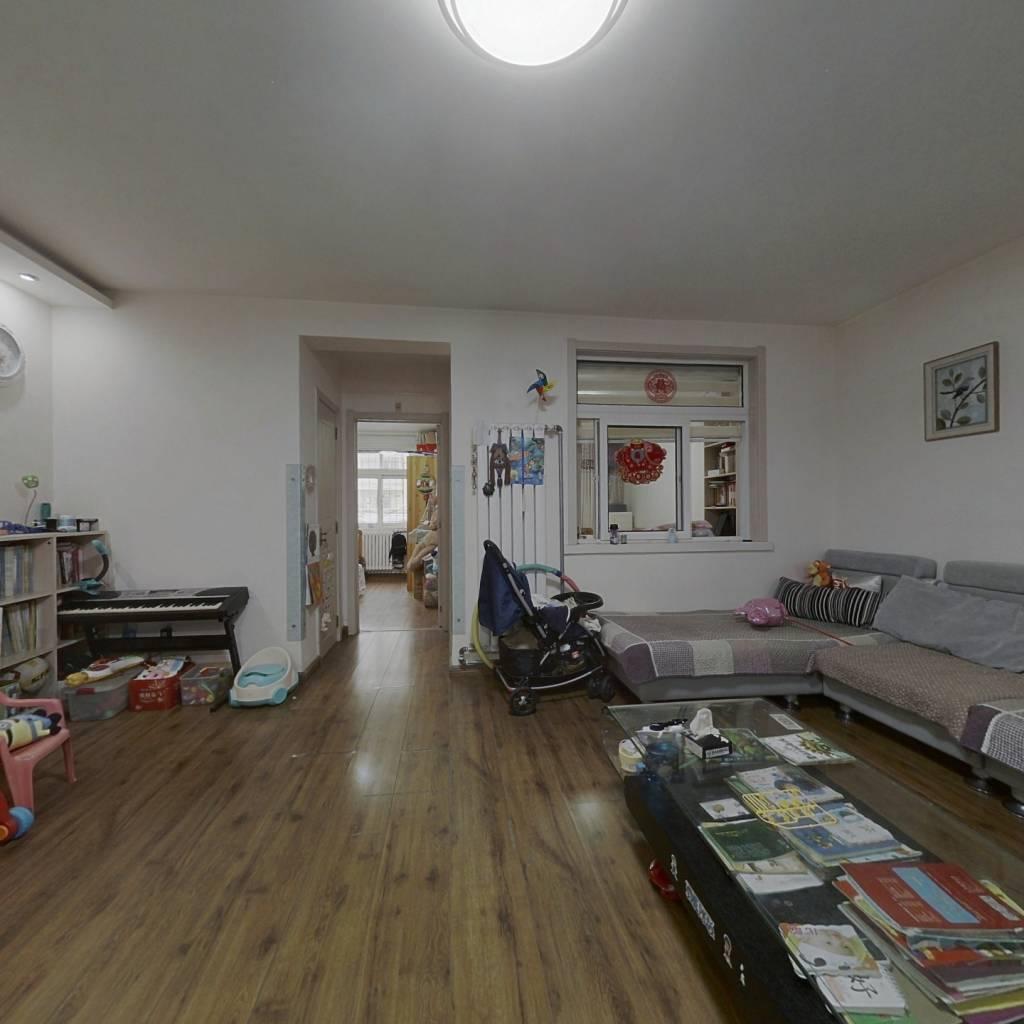 友谊苑 两居室 精装修 低楼层 采光好