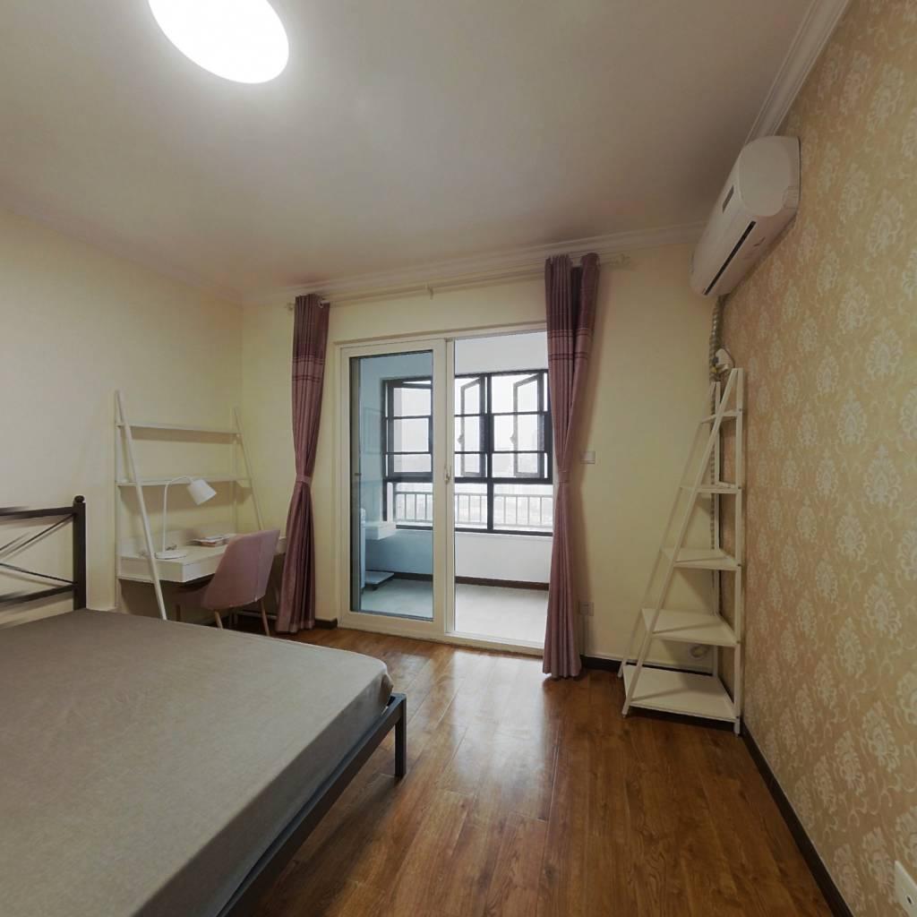 合租·顶琇国际城 4室1厅 南卧室图