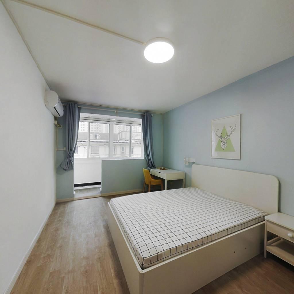 整租·泰山三村 2室1厅 南北卧室图