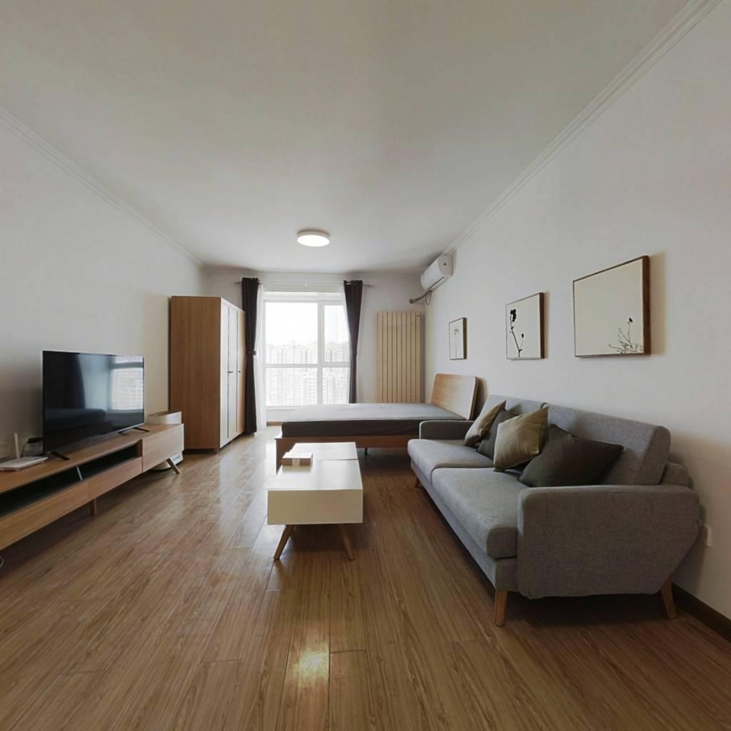 整租·时代国际嘉园 1室1厅 北卧室图