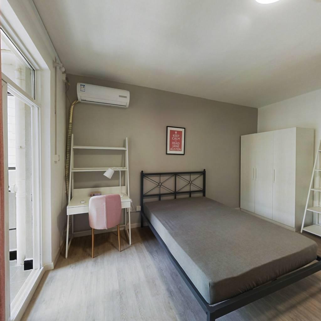 合租·地铁紫阳城 3室1厅 北卧室图