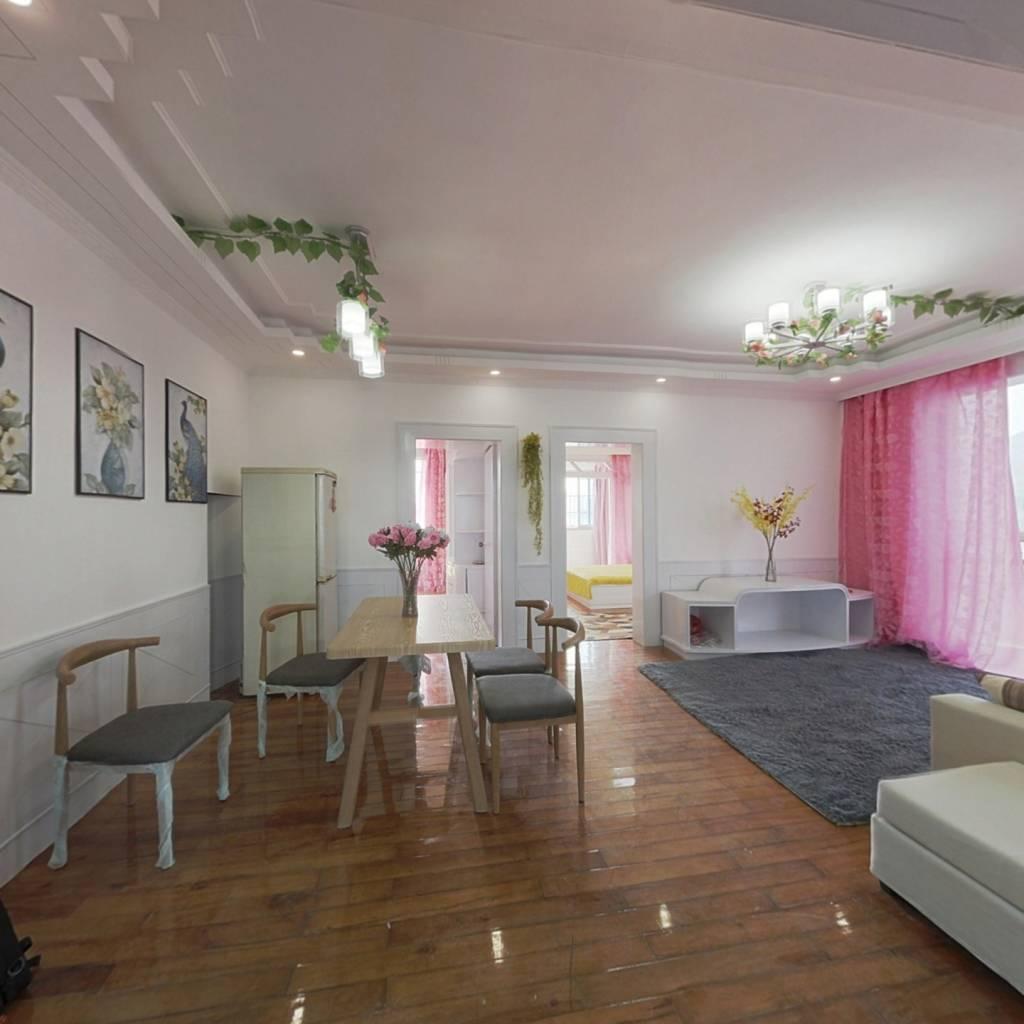 阳光公寓综合楼 全新精装修 复式大空间 买一层加一层
