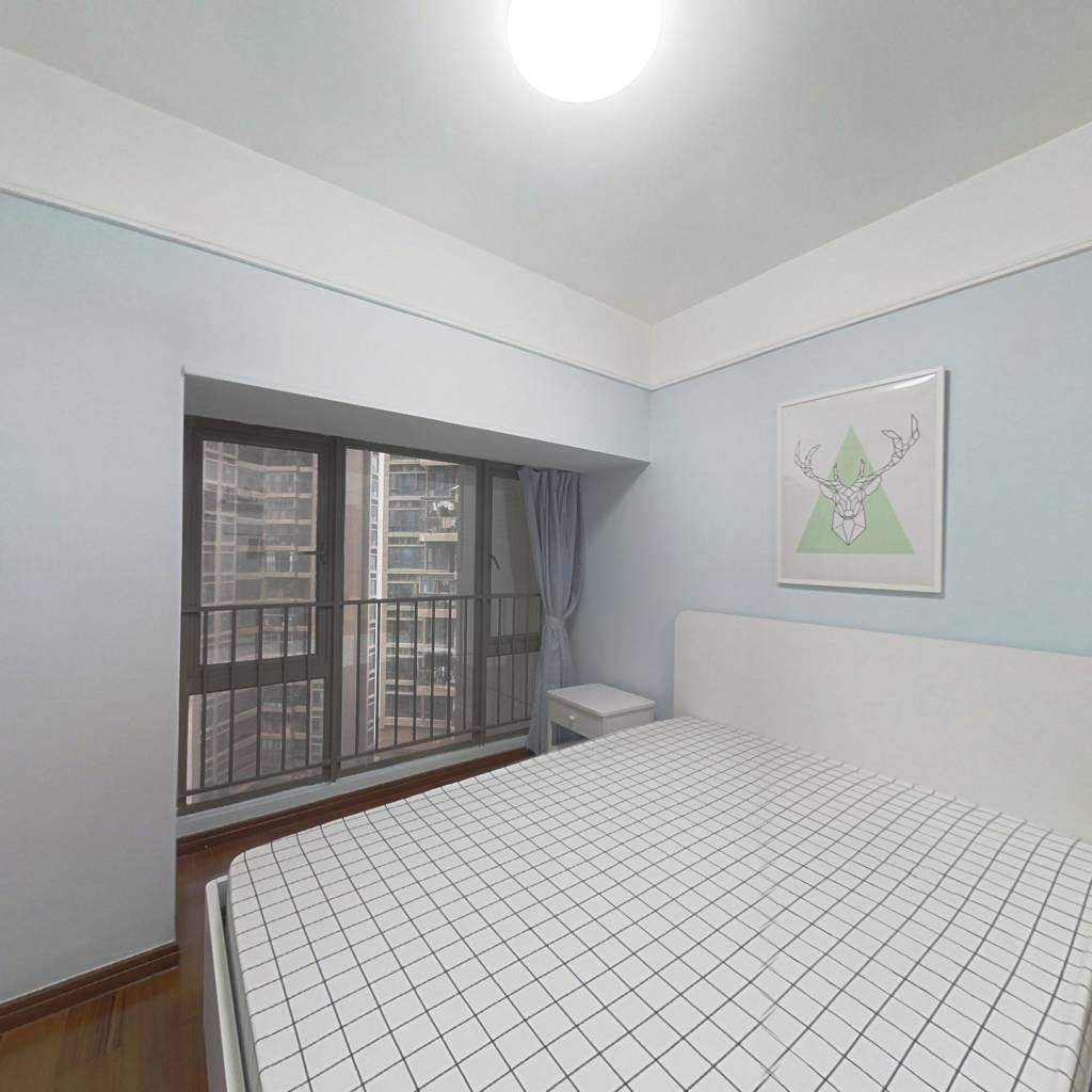 整租·万科红一期 1室1厅 西北卧室图