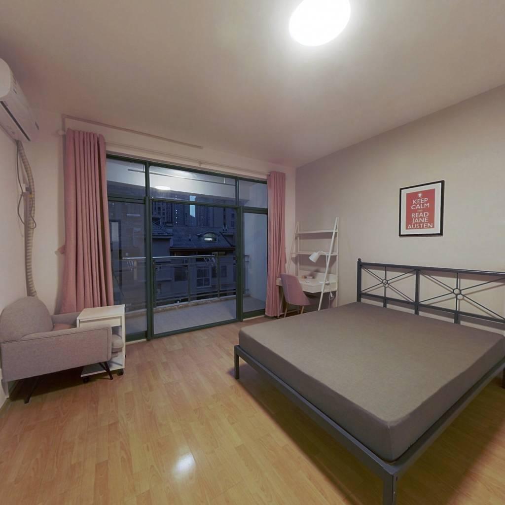 合租·滨湖名都城 4室1厅 北卧室图